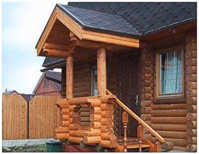 Крыльцо деревянного дома статьи