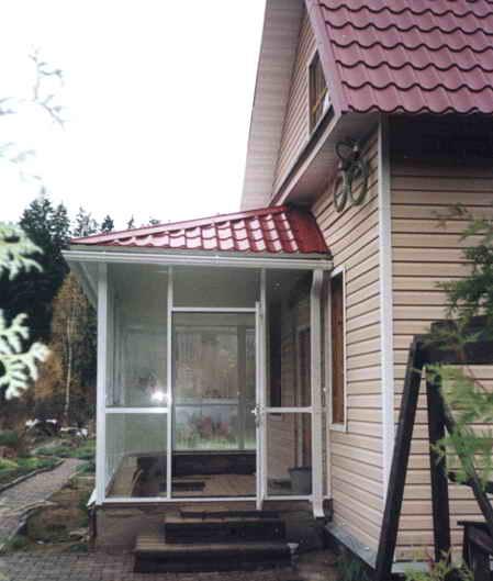 Когда постройка самого дома закончена, можно...  0. Вы решили построить дом с верандой.  И правильно сделали.