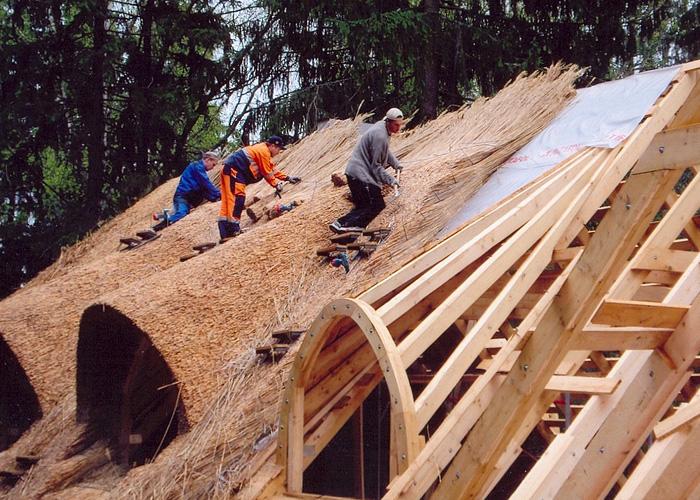 Камыш на крышу своими руками 78