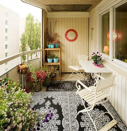 Декор лоджий и балконов